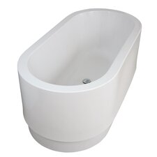 "Cocoon 63"" x 24.5"" FSoaking Bathtub"
