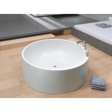 "Istanbul 63"" x 63"" Imagination Freestanding Soaking Bathtub"