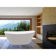 "PureScape 64"" x 34"" Soaking Bathtub"