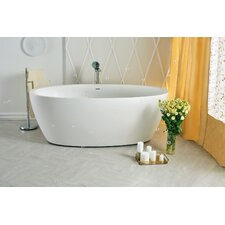 "Sensuality 70"" x 35"" Soaking Bathtub"