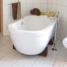 "AdoreMe 75"" x 35"" Soaking Bathtub"