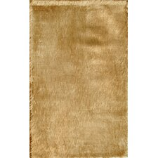 Crystal Solid Brown Rug