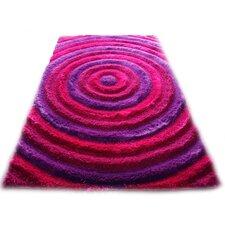 Bristol Pink/Purple Shag Area Rug