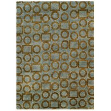 Legacy Gray/Gold Shag Area Rug