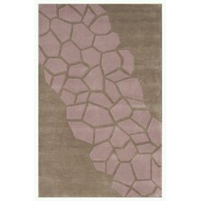 Riviera Gray / Pink Area Rug