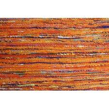 Rainbow Orange Area Rug