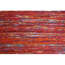 Rainbow Red Area Rug
