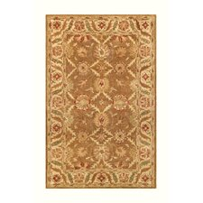 Golden Gold/Beige Area Rug