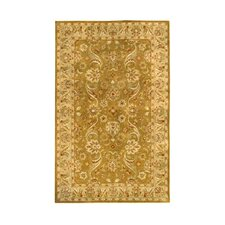Harmony Gold Floral Area Rug