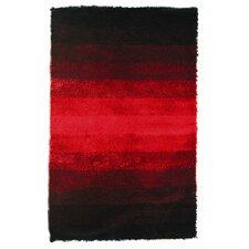 Jewel Black/Red Rug
