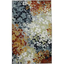 New Wave Radiance Multi Printed Area Rug