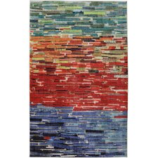 New Wave Awaken Multi Printed Area Rug