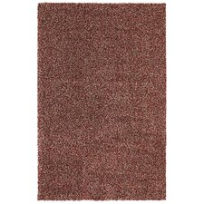 Urban Retreat Menagerie Shag Red Tufted Area Rug