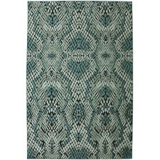 Tallo String Theory Naja Sea Teal Area Rug