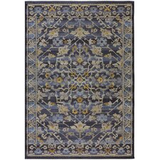 Voyage String Theory Sicily Navy Area Rug