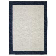 Loop Print Base Brutti Grey/Navy Area Rug