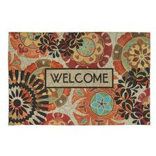 Eastern Suzani Welcome Doormat