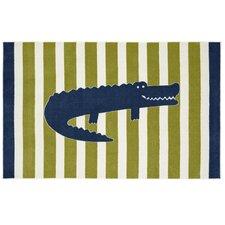 Aurora Friendly Alligator Area Rug
