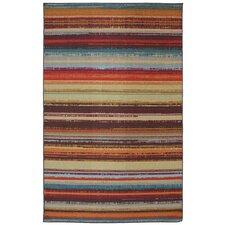 Patio Avenue Stripe Indoor/Outdoor Area Rug