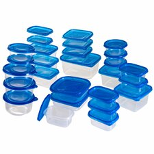 54 Piece Food Storage Container Set