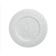 Diamond Glass Charger Plate (Set of 4)