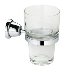 Cantori Wall-mount Clear Glass Tumbler
