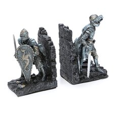 Arthurian Knight Book Ends (Set of 2)