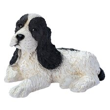 Cocker Spaniel Puppy Dog Figurine