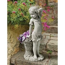 Frances the Flower Girl Statue