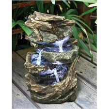 Glacier Peak Cascading Garden Resin Tiered Fountain