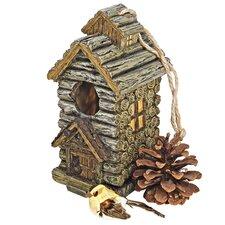 Cabin Backwoods Birdhouse