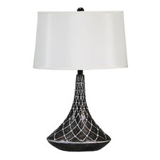 "Brompton Gate 27"" H Table Lamp with Empire Shade"