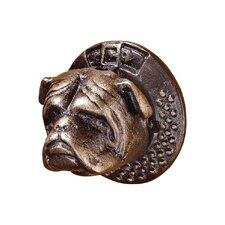 Bulldog Authentic Foundry Iron Door Knocker