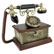 1910 Reproduction President's American Eagle Telephone