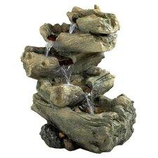 Resin Roaring River Cascading Garden Fountain