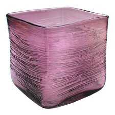 St. Enimie Square Glass Vase