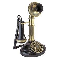 1897 Reproduction Telephone Roman Column Candlestick