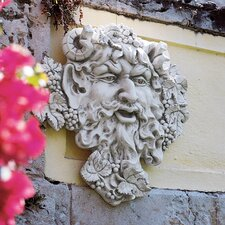 Bacchus God of Wine Greenman Wall Decor