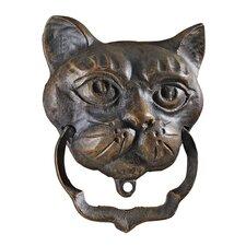 Black Cat Iron Door Knocker