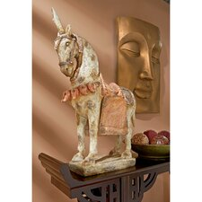 Six Dynasties Tang Caparisoned Horse Statue