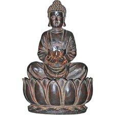 Endless Serenity Buddha Resin Sculptural Fountain
