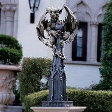 Raptor Gargoyle Surveyor of The Realm Statue