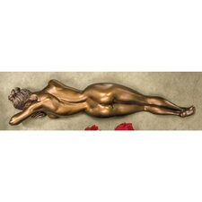 Restless Beauty Wall Figurine in Antique Bronze
