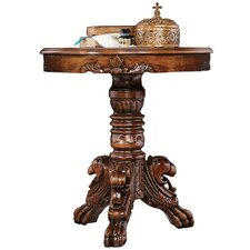 Heraldic Lion End Table