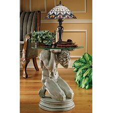 Neoclassical Male Occasional End Table