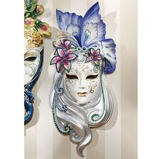 Mask of Venice Butterfly Wall Décor