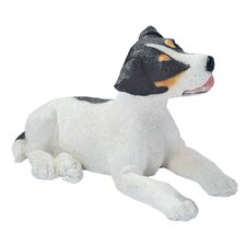 Jack Russell Puppy Dog Figurine