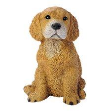 Retriever Puppy Dog Figurine