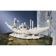 The Romantic Gondola Sculpture