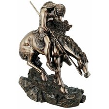 The End of the Trail Figurine in Bronze